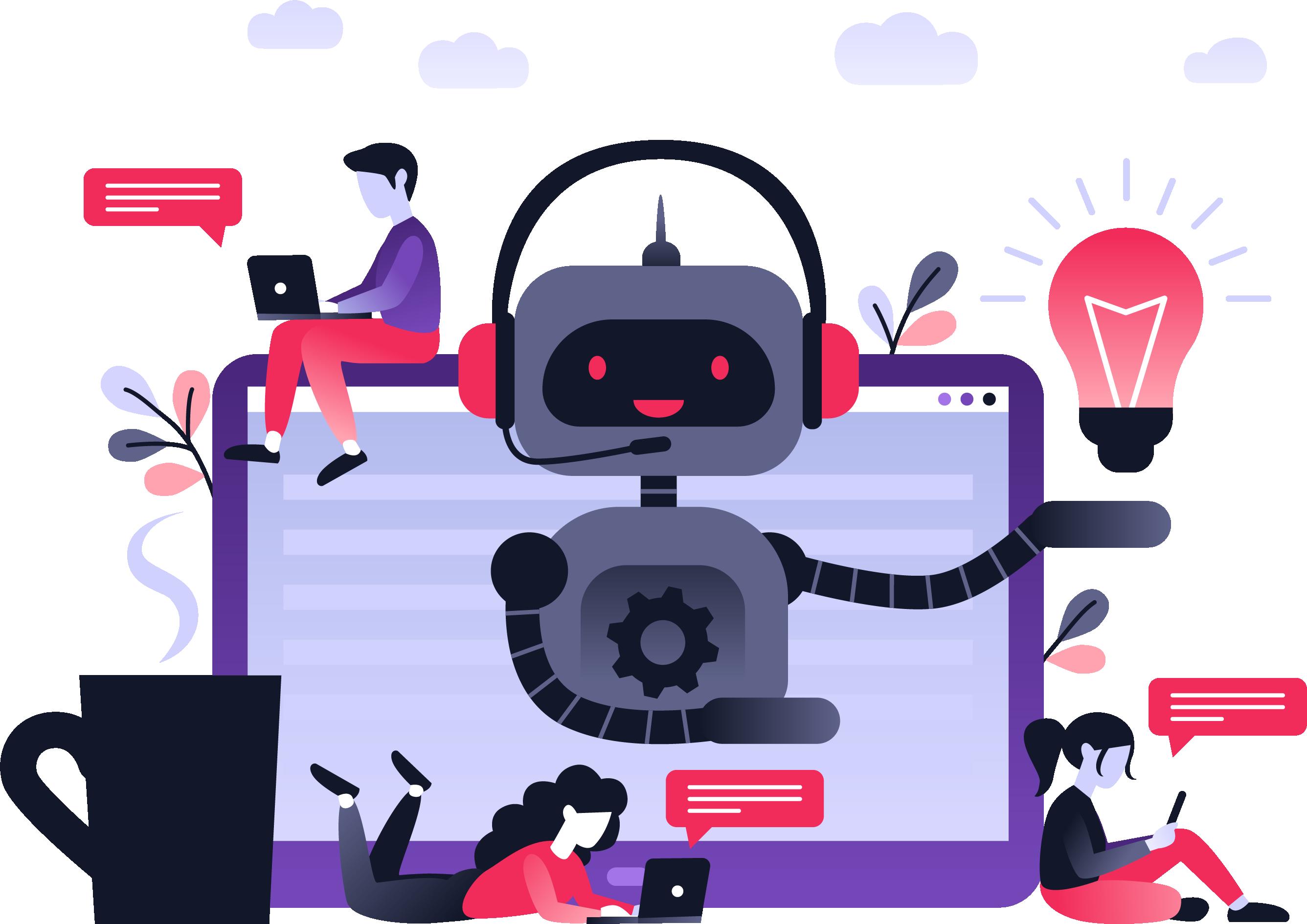 Chatbotbusinessconcept