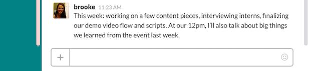 Meeting Update
