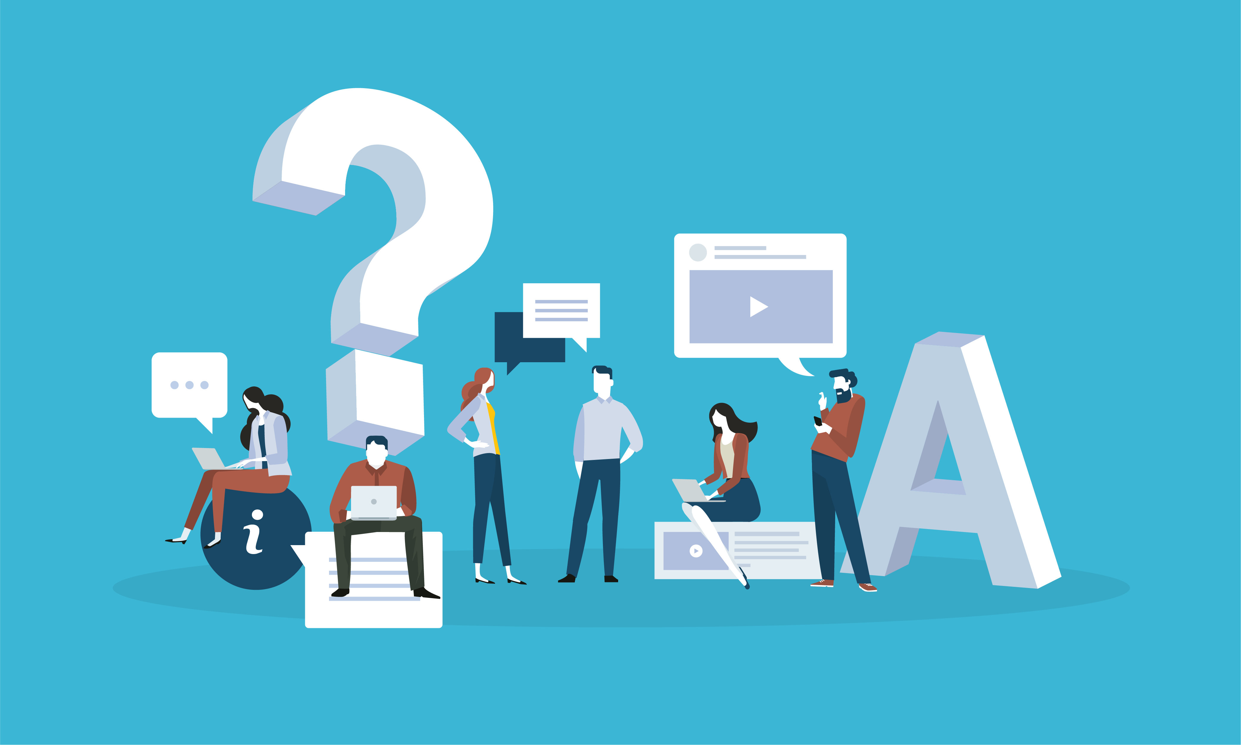 question graphic