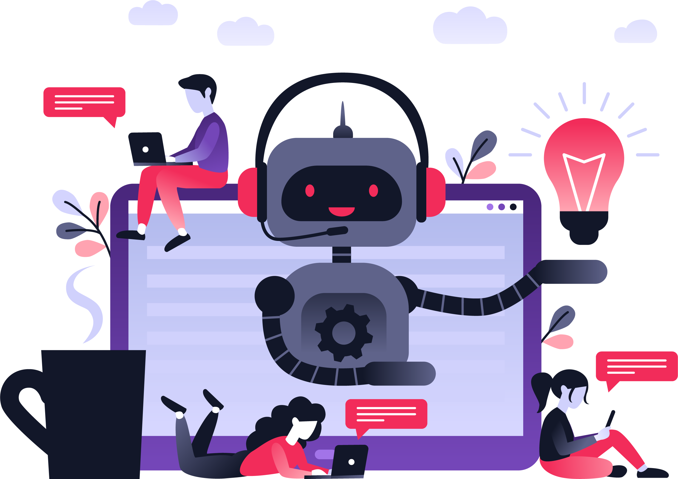 Chatbotbusinessconcept